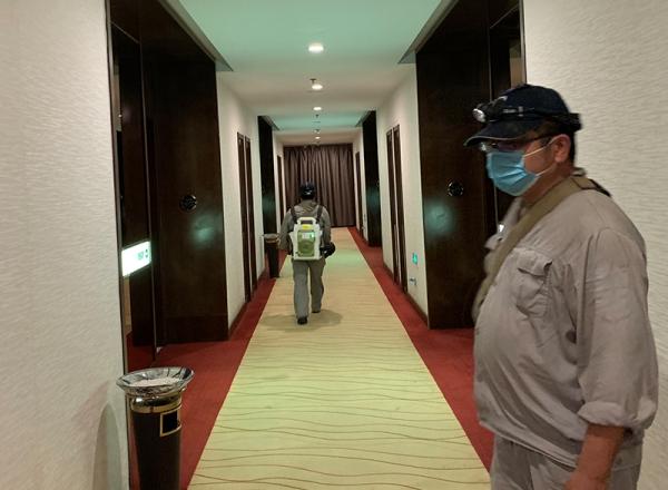 开封黄河迎宾馆灭四害